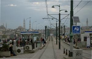Karaköy Tram Station