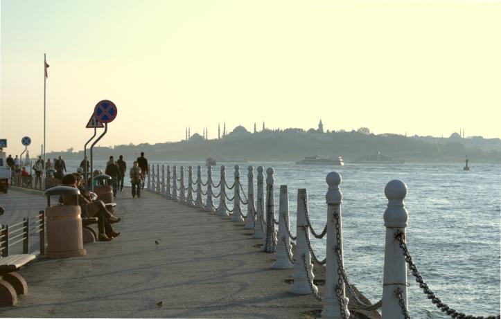 Üsküdar promenade