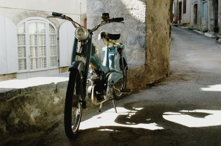 Electric Bike, Picturesque Village, St Lizier, France, Beautiful Village, Rustic,