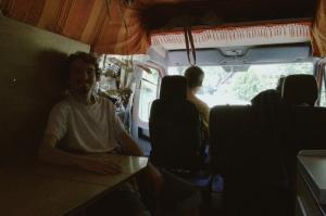 France, Hippy, Backpacking, Van