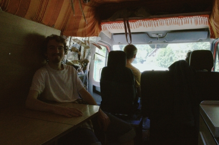 France, Hippy, Backpacking, Van