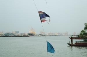 Bangkok, Thailand, Ships, Freight, Freighter,