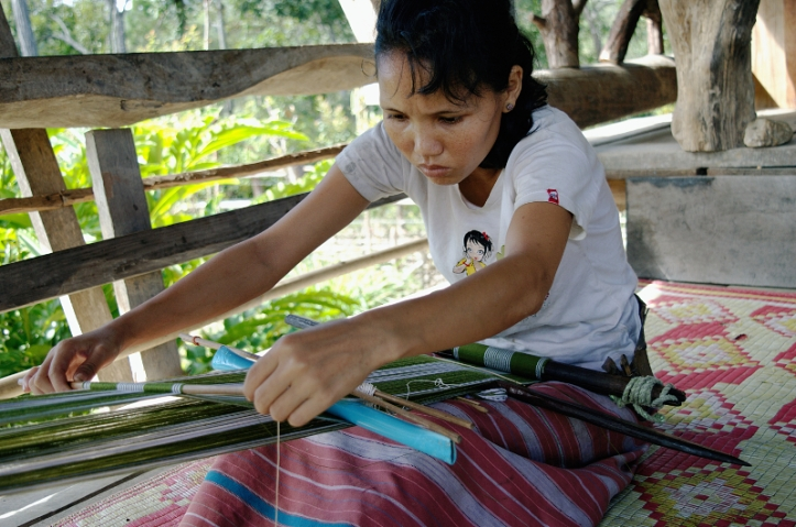 Karen People, Thailand, Travel, Chiang Mai, Northern Provinces, Alternate Travel, Back-strap loom,