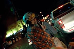 Motorbike, Chiang Mai, Thailand, Night,
