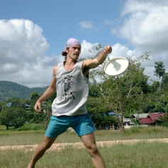 Tom the Ultimate Frisbee enthusiast