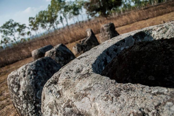 Plain of jars, site 1, Phonsavan