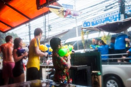 Songkran 2015, Koh Tao